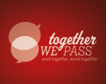 Together We Pass's logo