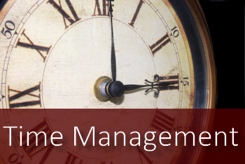 Time Management is crucial to success!
